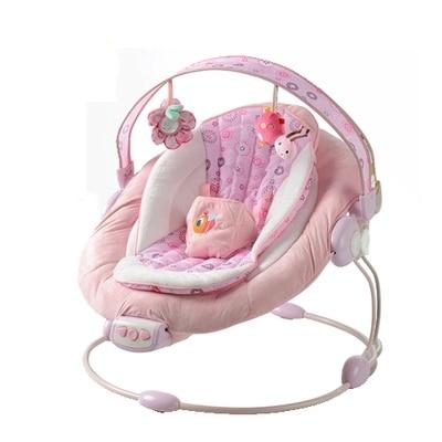 Baby Schommelstoel Automatisch.Us 133 74 Gratis Verzending Bright Begint Automatische Baby Vibrerende Stoel Muzikale Schommelstoel Elektrische Fauteuil Wiegt Wipstoeltje Swing In