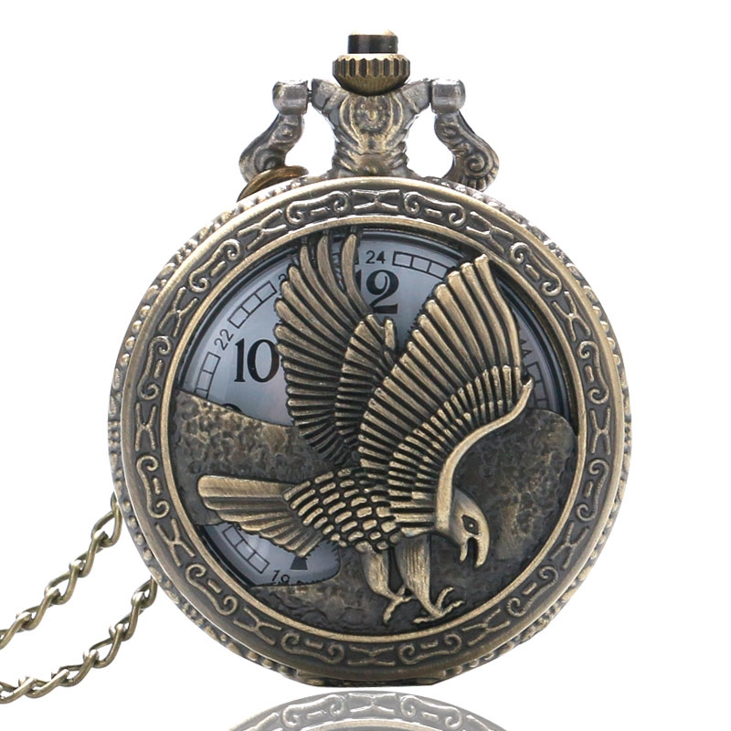 Animal Owl Pattern Watches Women Quartz Vintage Pocket Watch Retro Nursing Clock For Men Women Gifts Relogio Feminino Clock