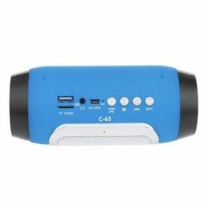 Image 2 - TOPROAD ハイファイポータブルワイヤレス bluetooth スピーカーステレオサウンドバー TF FM ラジオ音楽サブウーファー列コンピュータ電話