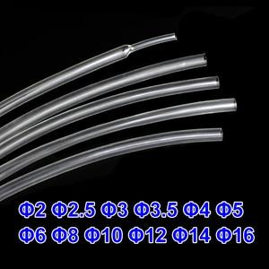 1 metro 2:1 Trasparente 2mm a 16 millimetri di Calore Del Tubo Termoretraibile Tubo Termoretraibile cavo Manicotti Wrap Wire kit