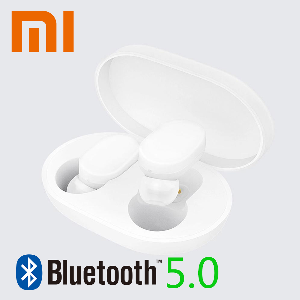 Original Xiaomi MIjia TWS AirDots bluetooth 5 0 Earphone Youth Version stereo bass Headphones With Handsfree