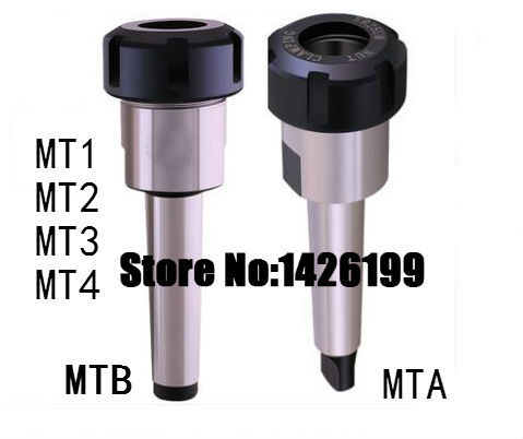 Mtb/mta/mt1/mt2/mt3/mt4モールステーパーer11/er16/er20/er25/er32/er40コレットチャックホルダー、cnc工具ホルダークランプ