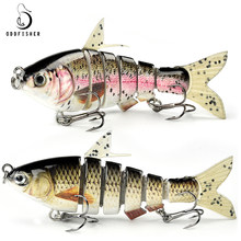 Originale DF65 Swimbait Silicone Pike Esche da Pesca Hard Esche Artificiali Bait Sinking Pesce Gear Wobblers Pike Filatrice(China)