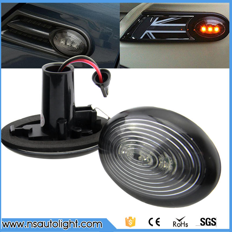 One Set Mini R56 LED Side Marker Turn Signal Lamp Car Turning Light for Mini Clearance Light Led Side Marker for R55 57 R58 R59 духи burberry brit sheer 100ml