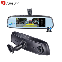 Junsun ADAS Car Camera DVR Detector 4G Camera Video Recorder Mirror 7 86 Android 5 With