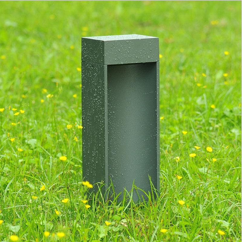 Lauko vandeniui atsparios žolės vejos šviesos kiemo kraštovaizdžio polių apšvietimo įranga WCS-OLL0031