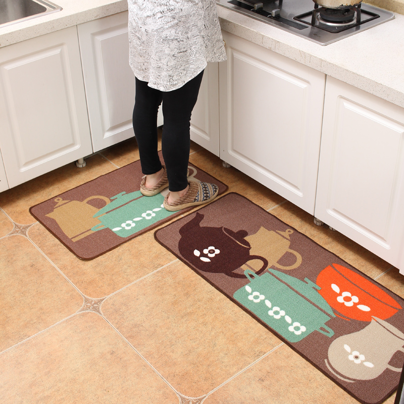 kitchen floor rugs how to buy cabinets 50x80cm 50x120cm mat anti fatigue modern non slip and carpets