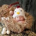 Bebê recém-nascido menina boy fotografia props crochet inverno hat cap new born unisex acessórios chapéu da foto do bebê fotografia prop outfit