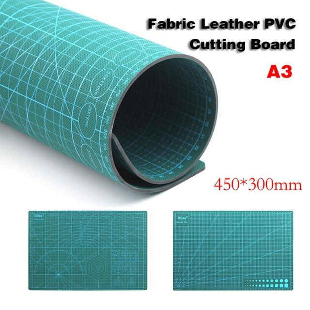 A3 PVC kendinden şifa kesme Mat kumaş deri kağıt zanaat DIY araçları çift taraflı şifa kesme tahtası
