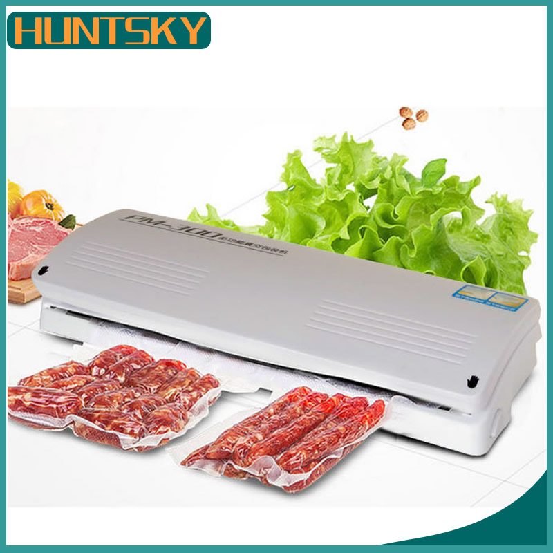 Free Shipping Small Commercial Vacuum Packaging Machine Automatically The Kitchen Household Vacuum Sealer Hot Sales In