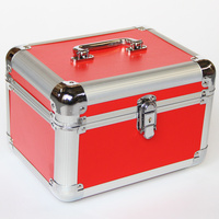 Jewelry Women Makeup Organizer Large Capacity Multilayer Portable Cosmetic Bag Suitcase Necessities Trunk Toiletry Bag