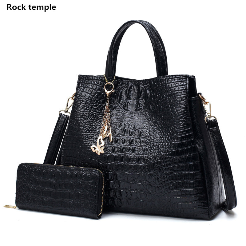 Lady Handbags fashion women single shoulder bag women Crocodile grain PU leather women messenger Handbag Ladies shoulder bags yuanyu new 2017 new hot free shipping crocodile women handbag single shoulder bag thailand crocodile leather bag shell package