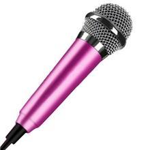 3,5 мм Мини Портативный Студийный микрофон KTV микрофон с кабелем 1,5 м для телефона ноутбука ПК рабочего стола
