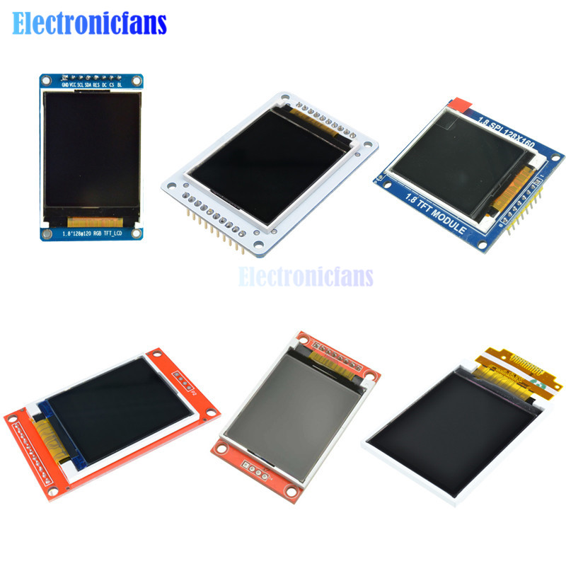 128*160 Serial SPI TFT Color LCD Module Screen SPI Serial Interface Shield Micro SD 1.8 Inch 1.8