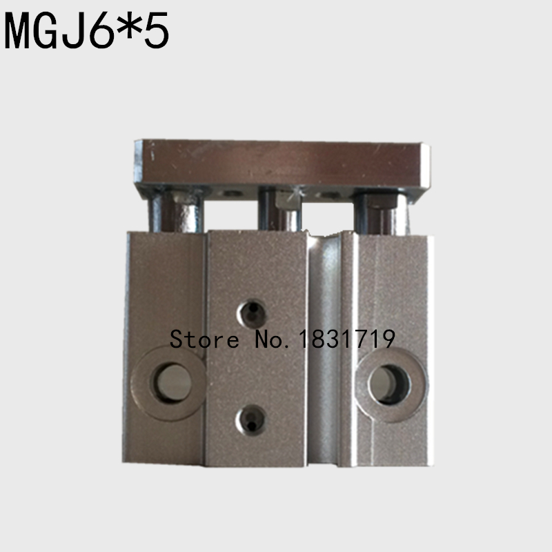 SMC type MGJ6-5/6*5 micro band guide rod / three axis cylinder bore size 6mm cylinder stroke 5mm/Pneumatic componentsSMC type MGJ6-5/6*5 micro band guide rod / three axis cylinder bore size 6mm cylinder stroke 5mm/Pneumatic components