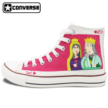 Custom Design Converse All Star Poker King Queen Hand Painted Shoes Unique Canvas Sneakers Birthday Gifts for Men Women