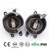 JGRT For Toyota Sienna Led Fog Lamps LED DRL Turn Signal Lights Car Styling LED Daytime