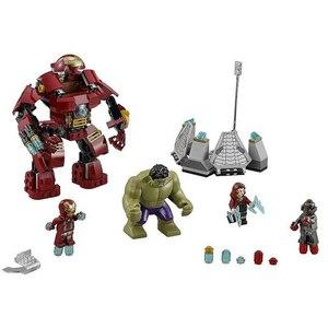 Image 3 - 7110と互換性スーパーヒーロー76031ビルディング · ブロックultronアイアンバスターレンガのおもちゃ
