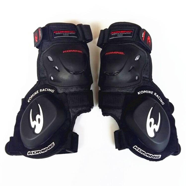 Free Shipping Latest KOMINE Motorcycle Shock-Proof Gear Road Racer Knee Bending Professional Slider 10