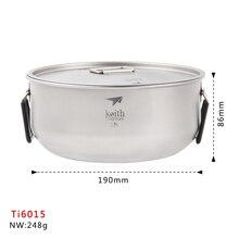 Keith Titanium 1.8L Camping Pot