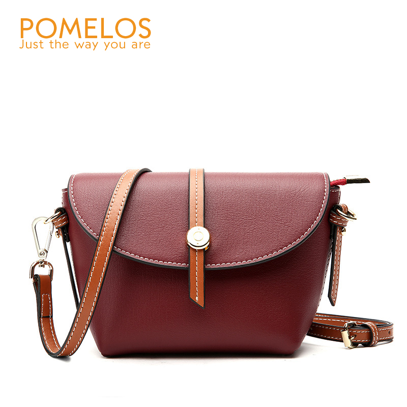 a47ca43ab7 POMELOS Fashion Genuine Leather Women Shell Handbag Ladies Cover Shoulder Bag  Purse Female Luxury Small Messenger Crossbody Bags