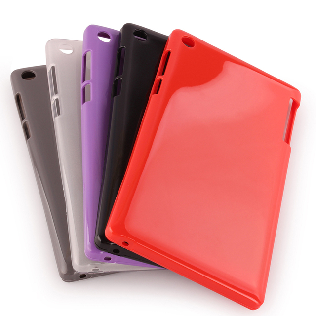 new product c3835 3e60d Ultra Slim Waterproof Soft Silicone Rubber Protective TPU Shell Case Cover  for Lenovo Tab 2 Tab2 A7-30HC A7-30 A7-30TC A7 30TC