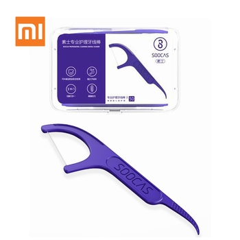 Original Xiaomi Mijia Soocare Dental Floss Daily Tooth Cleaning Professional Superfine 50pcs/box