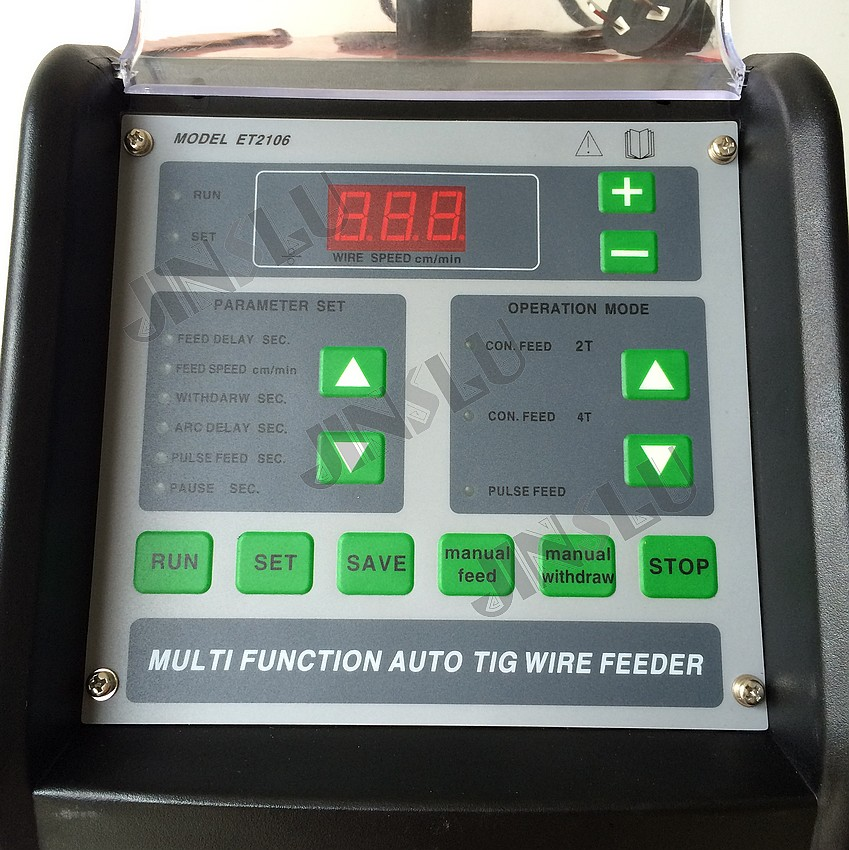 TIG suvirinimo aparato 220 V skaitmeninio impulso argono lankinio - Suvirinimo įranga - Nuotrauka 2