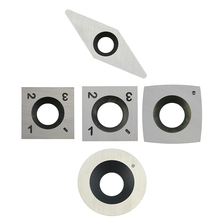 5pcs Solid Tungsten Carbide Cutter Inserts Set for Wood Lathe Turning Tools Replacement Accessories стоимость