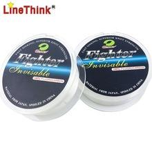 50M 100% Fluorocarbon Fishing Line Leader line for Braid Fishing Line Japan Quality Free Shipping
