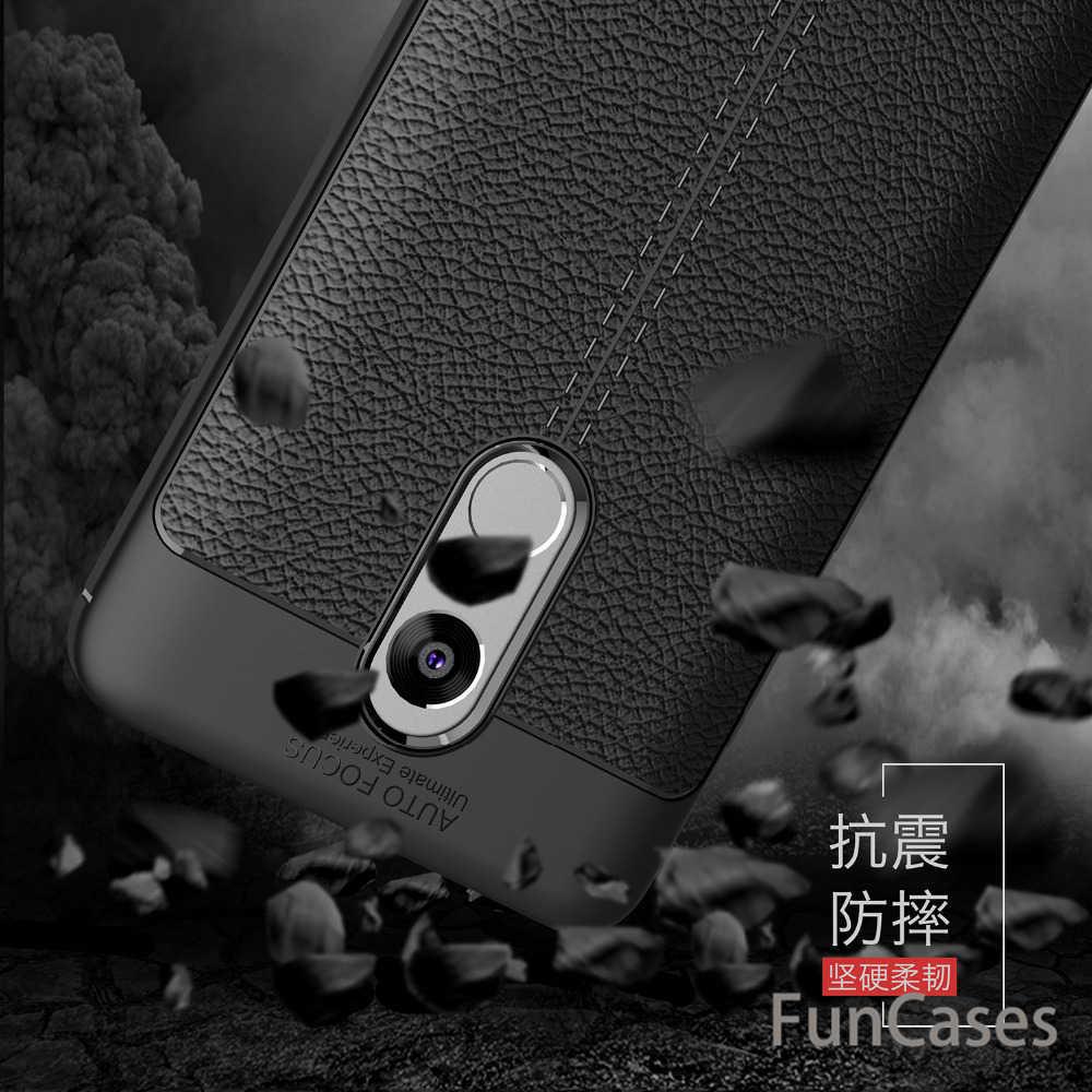 高級tpuレザーケース用xiaomi redmi注4カバーシリコーンカーボン繊維カバーredmi注4プロ5.5インチ4倍プロ電話シェル
