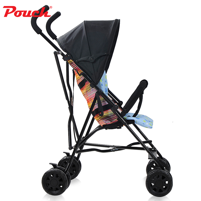 Pouch Summer lightweight stroller shock  baby ultra light portable travel children four-wheeled cartPouch Summer lightweight stroller shock  baby ultra light portable travel children four-wheeled cart