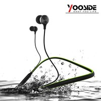 2017 New Wireless Bluetooth Headphone Neckband Sport Stereo Headset Waterproof Magnetic With Mic Earphone