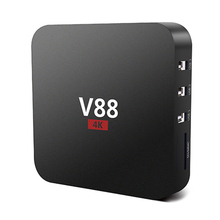 SIFREE V88 Smart TV Box 4 K Android 6.0 Rockchip 3229 1G/8G 4 USB 4 K 2 K WiFi Pleine Charge Quad Core 1.5 GHZ Media Player PK X96
