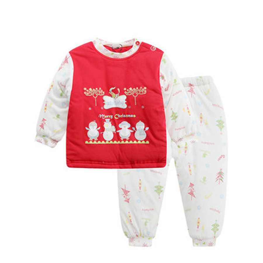 2 PCS Newborn Boys Girls Baby Rompers Winter Cute Red Climbing Clothes Warm Romper Knitted White Christmas Deer Outwear 70Z2062 new cute baby toddler kids boys girls knitted crochet beanie winter warm hat cap skullies