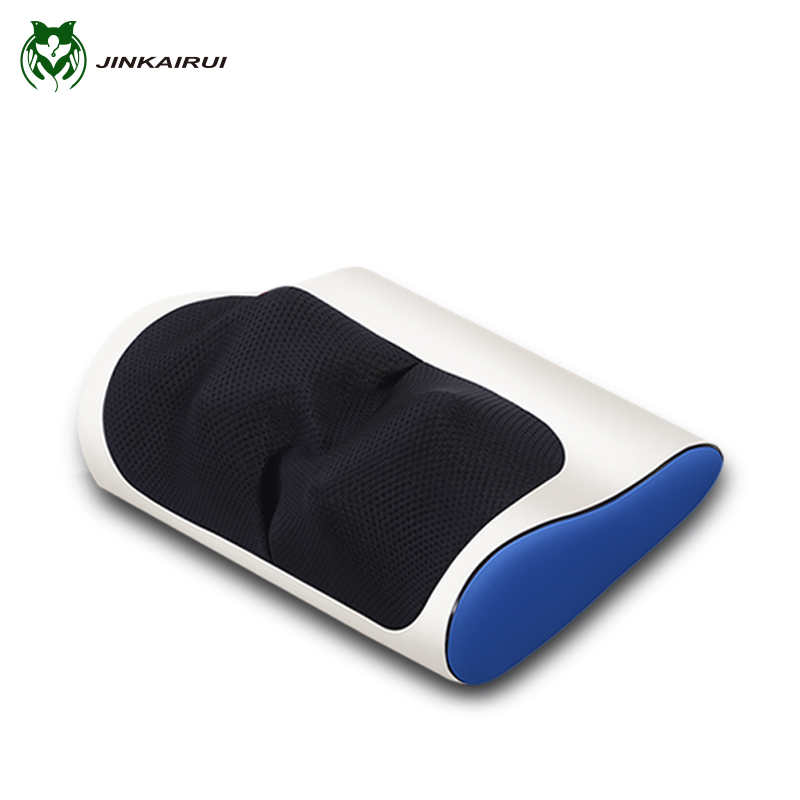 Infrared Heating Neck Shoulder Back Body multifunctional  Massage Pillow Shiatsu Massager Device Cervical healthy Massageador bolikim electric infrared heating kneading neck shoulder back body spa massage car pillow car chair shiatsu massager machine
