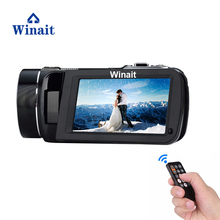 Free Ship 10x Optical Zoom 24MP Professional Camera Wireless Video Camera 3.0″ Touch Screen H.264 1080P HD Camcorder HDV-Z80