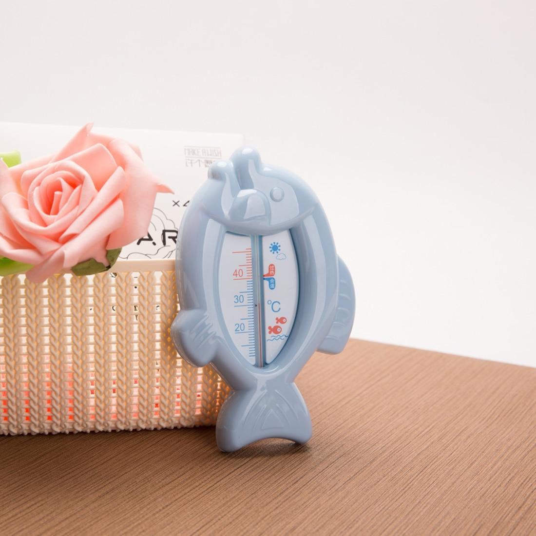 100% QualitäT Neue Hohe Qualität Baby Schwimmenden Fisch Wasser Thermometer Plastic Float Badespielzeug Badewanne Sensor 10-50c