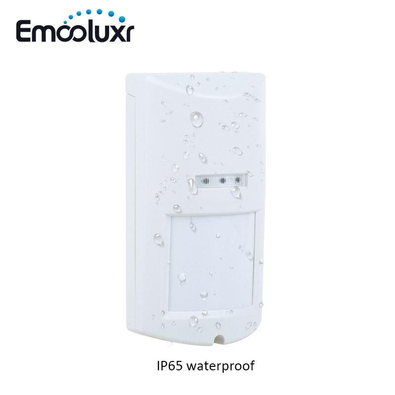 Wireless Pet Friendly Waterproof Outdoor PIR Detector Alarm Motion Sensor for 8218G,G15,G18,G19 and wifi alarm system G90B ...