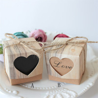50pcs Wedding Favour Favor Sweet Cake Gift Candy Boxes Bags Anniversary Party Natal Navidad Christmas 30