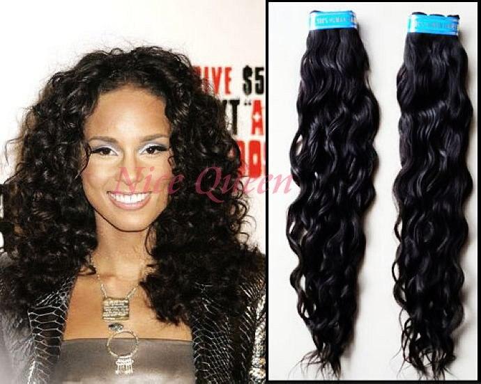 Brazilian Hair Style: 22 Inch Brazilian Loose Curly Hair Alicia Keys Style On