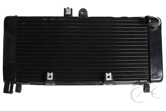 Black Aluminium Radiator Cooler Cooling For HONDA CB900 CB919F HORNET900 02-07 motorcycle radiator for honda jade250 jade 250 cb250 cb 250 aluminium water cooling radiator new