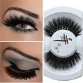 Black Luxurious 100% Real Mink Natural Thick Eye Lashes False Eyelashes Y-6   DYY960