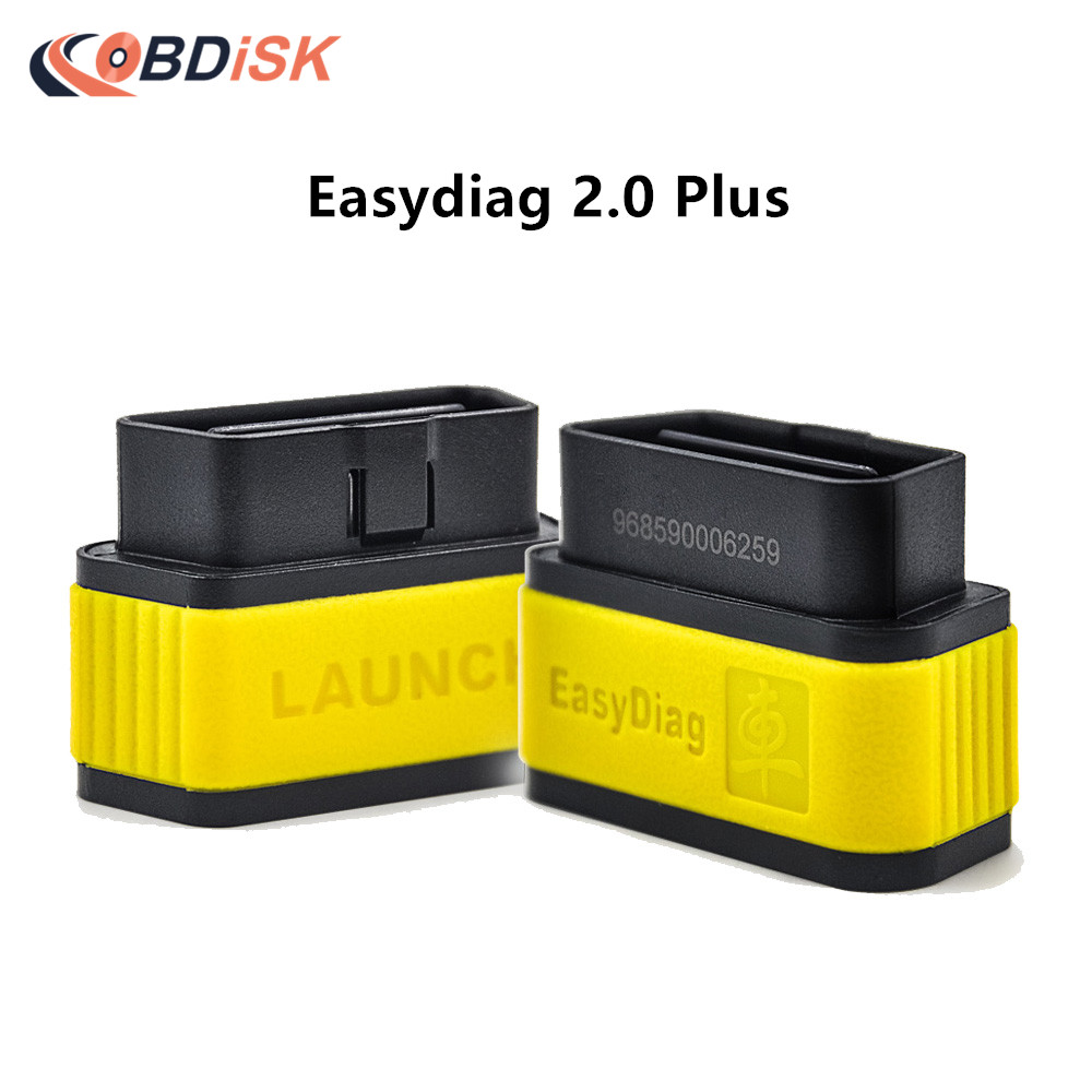 100% Original Launch X431 EasyDiag 2.0 Plus OBDII Code Reader for Android IOS Easy Diag 2.0 with 2 Free Vehicle Software