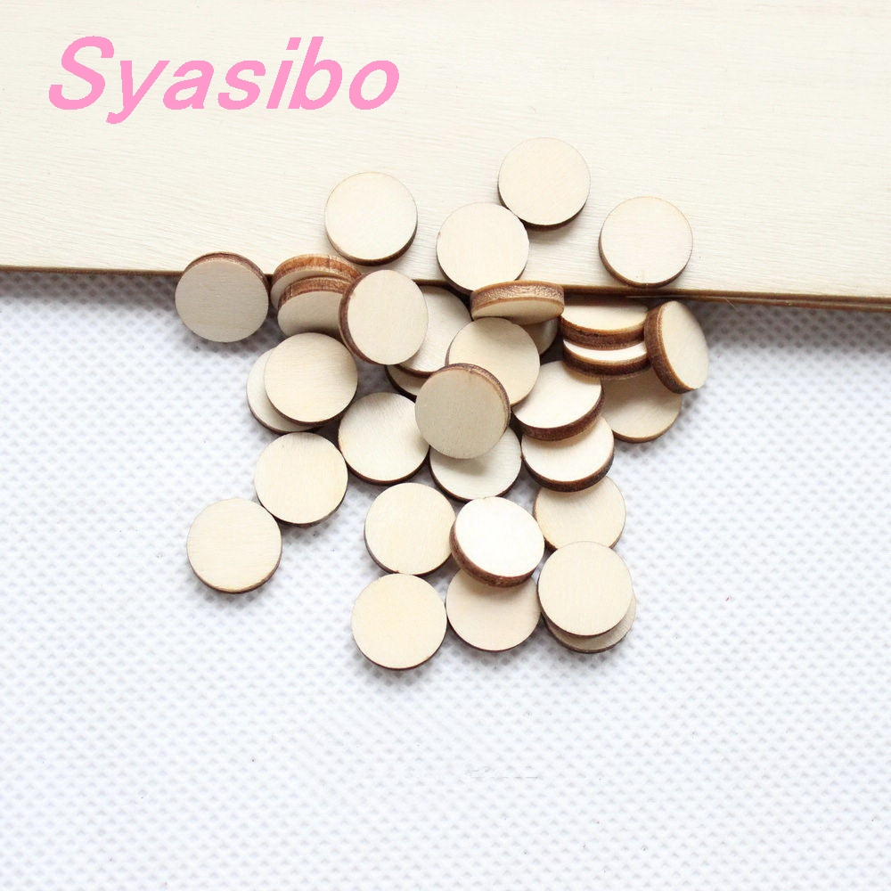 8mm/10mm/12mm /16mm High Quality Blank Wood Circle Earring (no Stud )Accessories Unfinished Rustic Disc -CT1297