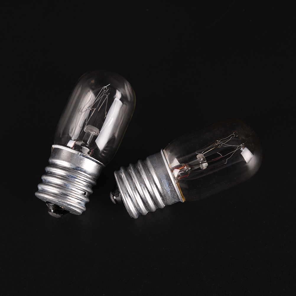 High Bright E17 15W LED Bulbs Screw Base SMD LED Glass Light Lamp Bulb Pure Warm White 220V For Sewing Machine Refrigerator