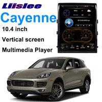 LiisLee Car Multimedia GPS Audio Hi Fi Radio Stereo For Porsche Cayenne 92A 2011~2017 Original PCM3.1 Style Navigation NAVI