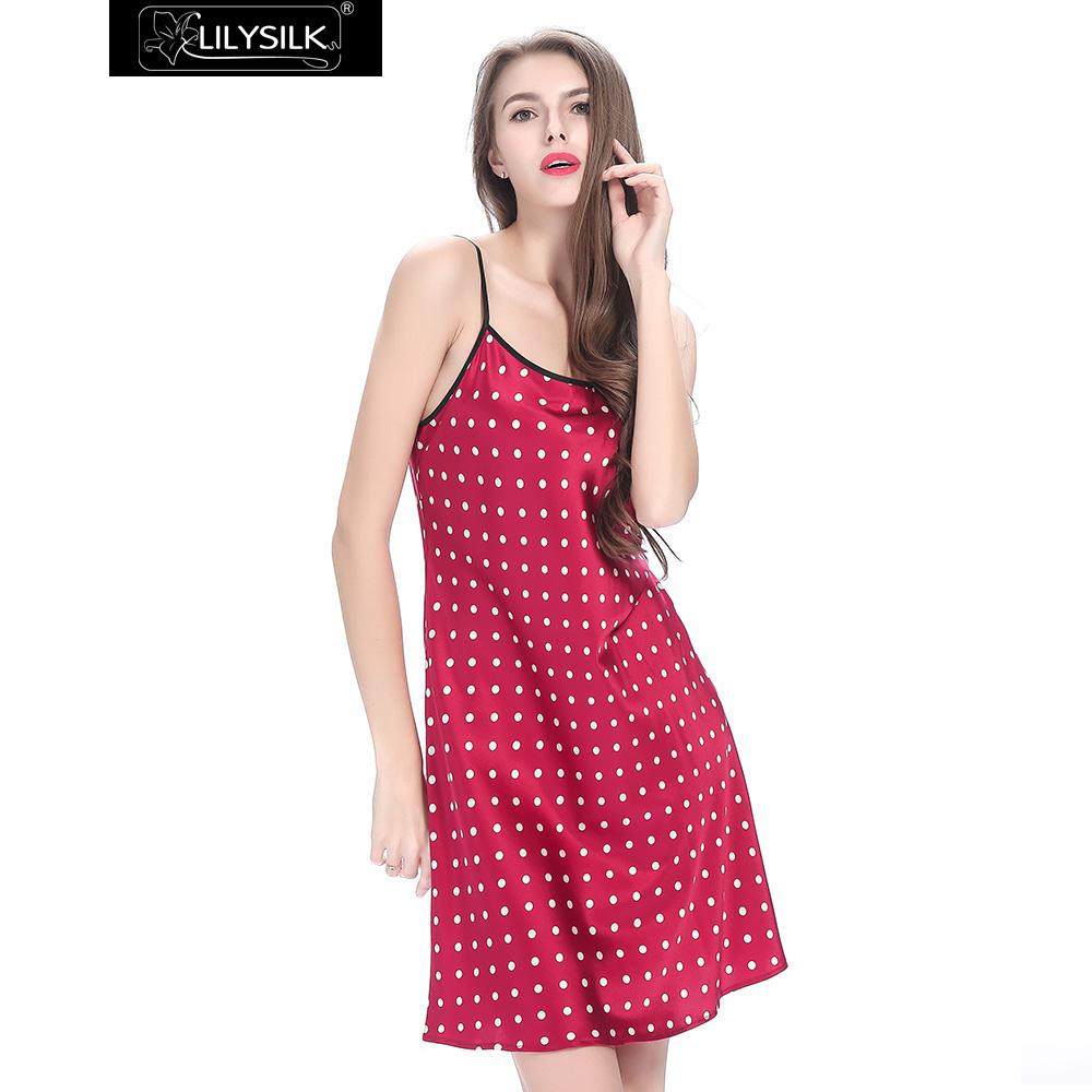 claret-19-momme-short-silk-nightgown-with-white-dots-03