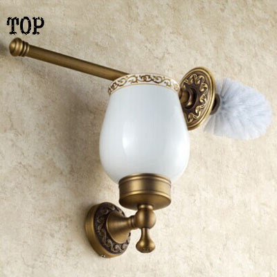 Archaize toilet brush holder set The toilet drink holder of carve patterns or designs on woodwork The bathroom hardware pendant thailand hollow out carve patterns or designs on woodwork restoring ancient ways is pure silver key pendant