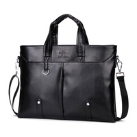 Kangaroo Luxury Brand Men S Business Documents Bag Leather Totes Laptop Bag For Male Fashion Men